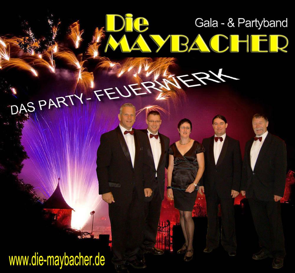 die maybacher partyband ulmdie maybacher - musiker für ihre hochzeit